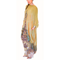 Sleeved Kaftan Dress
